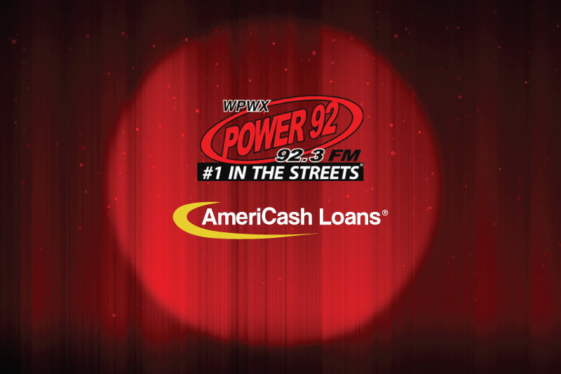 Win Tickets to Comedy Laugh Fest Plus $100 With Power 92 and AmeriCash Loans