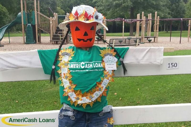 AmeriCash Presents Penny the Scarecrow