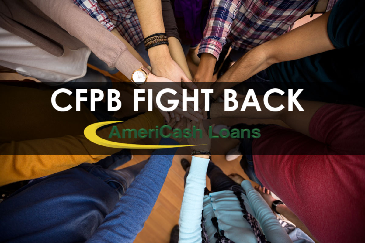 AmeriCash Loans Customers Fight Back Against CFPB