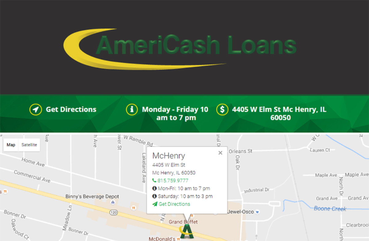 Grand Opening at AmeriCash Loans McHenry